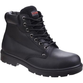 Schuhe Herren Stiefel Centek  Schwarz