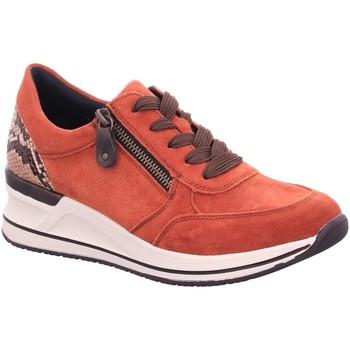 Schuhe Damen Sneaker Low Remonte Dorndorf Schnuerschuhe D3204-38 rot
