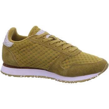 Schuhe Damen Sneaker Woden Ydun Suede Mesh II WL030 grün