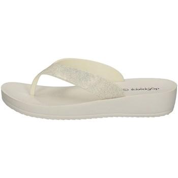 Schuhe Damen Pantoffel De Fonseca IMPERIA P W55 WEISS
