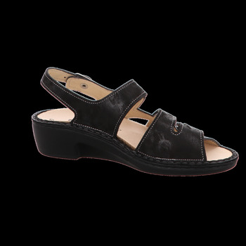 Schuhe Damen Sandalen / Sandaletten Finn Comfort Sandaletten Aversa PROSPEKT schwarz