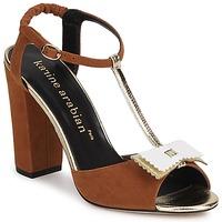 Schuhe Damen Sandalen / Sandaletten Karine Arabian ABBAZIA Weiss / Goldfarben