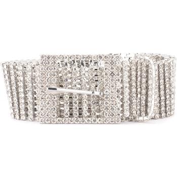 Accessoires Damen Gürtel B-Low The Belt Gürtel  Modell Farah mit silbernen Silber