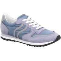 Schuhe Damen Sneaker Low Maripé Schnuerschuhe 30250 PIOMBO blau