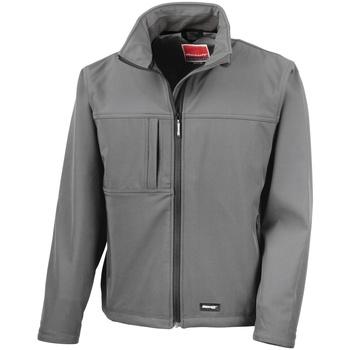 Kleidung Herren Jacken Result R121M Grau