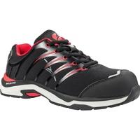 Schuhe Herren Sneaker Low Albatros  Schwarz/Rot