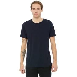 Kleidung Herren T-Shirts Bella + Canvas CA3413 Navy Triblend