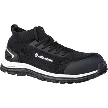 Schuhe Herren Sneaker Low Albatros  Schwarz
