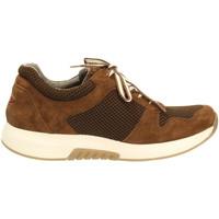 Schuhe Damen Sneaker Low Rollingsoft By Gabor Schnuerschuhe Rolling Soft 56.946.42 braun