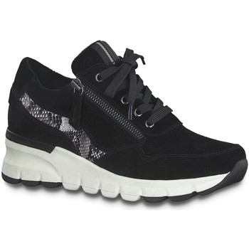 Schuhe Damen Sneaker Low Jana Schnuerschuhe 8-8-23725-25/001 schwarz