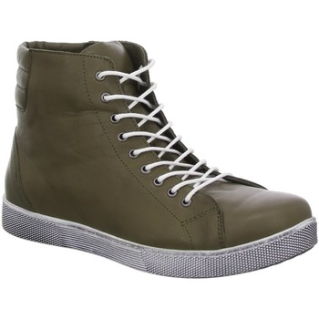 Schuhe Damen Sneaker High Andrea Conti Stiefeletten 0347843-103 grün