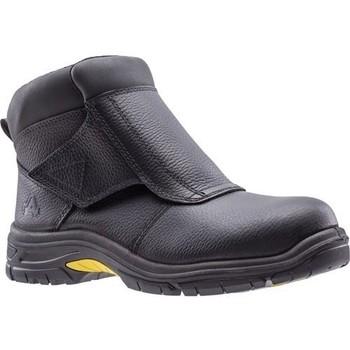 Schuhe Herren Boots Amblers  Schwarz
