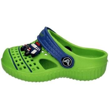 Schuhe Jungen Pantoletten Allseason 82162Q GRÜN