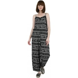 Kleidung Damen Overalls / Latzhosen Molly Bracken MBG607E20 Schwarz