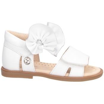 Schuhe Mädchen Sandalen / Sandaletten Florens J006550B WEISS