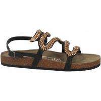 Schuhe Damen Sandalen / Sandaletten Strategia MOON bronzo-oro