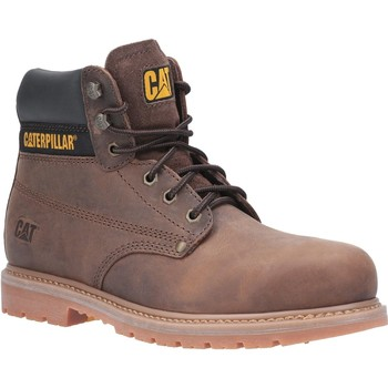 Schuhe Herren Sicherheitsschuh Caterpillar  Braun
