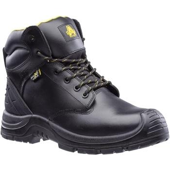 Schuhe Herren Sicherheitsschuh Amblers Safety  Schwarz