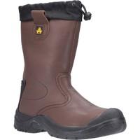 Schuhe Herren Sicherheitsschuh Amblers Safety  Braun