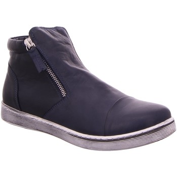 Schuhe Damen Low Boots Andrea Conti Stiefeletten 0348706-017 blau