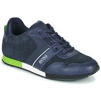 Schuhe Jungen Sneaker Low BOSS J29225 Blau