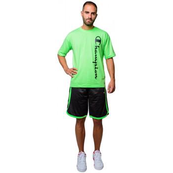 Kleidung Herren Shorts / Bermudas Champion Herren Mesh Bermuda Shorts (214390-kk001) Schwarz