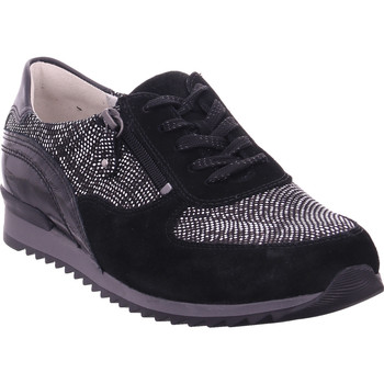 Schuhe Damen Sneaker Low Waldläufer Hurly/H,schwarz schwarz
