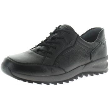 Schuhe Herren Sneaker Low Waldläufer Schnuerschuhe HIRSCH 388005-199/001 001 schwarz