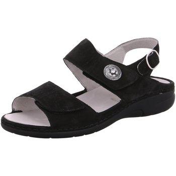 Schuhe Damen Sandalen / Sandaletten Waldläufer Sandaletten 204001-191/00188099 schwarz