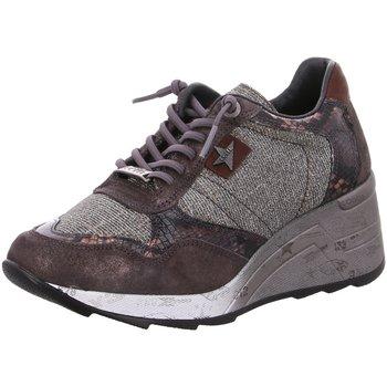 Schuhe Damen Sneaker Low Cetti C1143SRA BUNNY GALASSIA grau