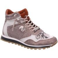 Schuhe Damen Sneaker High Cetti SCHNÜRSTIEFEL C-1048 SRA OLD ROSE grau