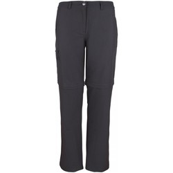 Kleidung Jungen Jogginghosen High Colorado Sport NOS CHUR 4-L, Lds. Zip-Off Pan 1050454 8004 grau