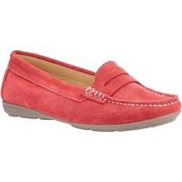 Schuhe Damen Slipper Hush puppies  Rot