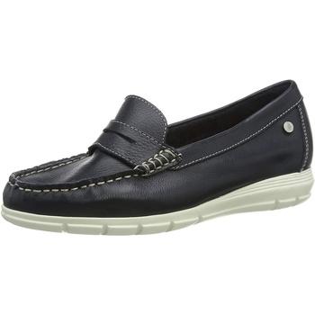 Schuhe Damen Slipper Hush puppies  Blau