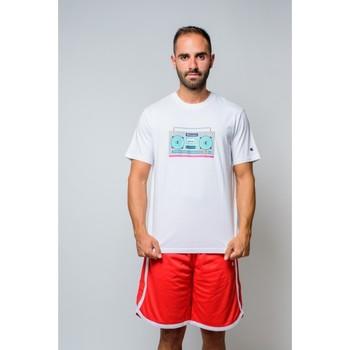 Kleidung Herren T-Shirts Champion T-Shirt mit Rundhalsausschnitt (214665-ww001) Weiss