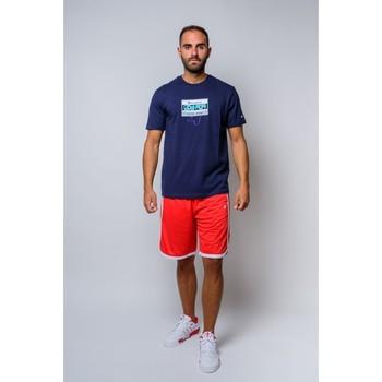 Kleidung Herren T-Shirts Champion T-Shirt mit Rundhalsausschnitt (214666-bs503) Blau