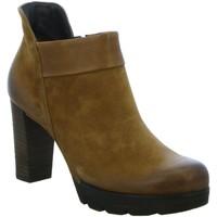 Schuhe Damen Ankle Boots Paul Green Stiefeletten 0065-8217-135/Stiefelette 8217-135 braun