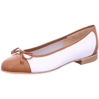 Schuhe Damen Ballerinas Gabriele Chain weiß