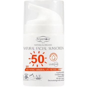 Beauty Sonnenschutz & Sonnenpflege Arganour Natural&organic Facial Sunscreen Spf50  50 ml