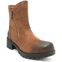 Schuhe Damen Low Boots Chattawak Botine 8-TILDA  Camel Braun