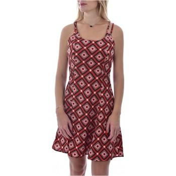 Kleidung Damen Kurze Kleider Molly Bracken R1422AE20 Orange