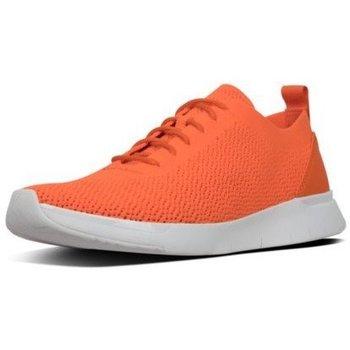 fitflop -   Sneaker FLEEXKNIT - SNEAKERS - NEON ORANGE CO