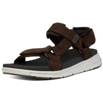 Schuhe Herren Sandalen / Sandaletten FitFlop SPORTY BACK STRAP SANDALS - CHOCOLATE BROWN CHOCOLATE BROWN