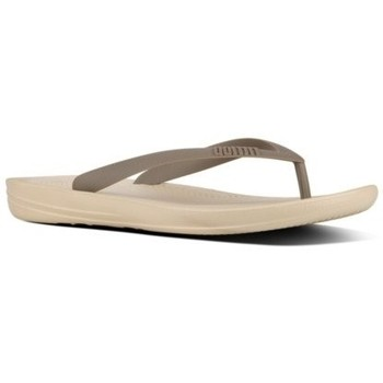 Schuhe Herren Zehensandalen FitFlop IQUSHION - FLIP FLOPS - LIGHT SAND MIX FLIP FLOPS - LIGHT SAND MIX
