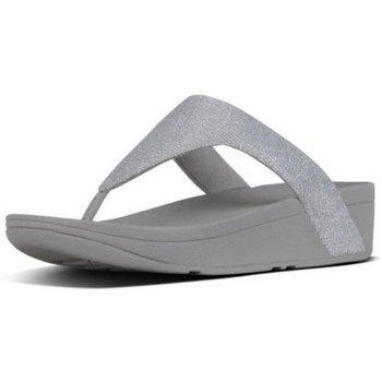 Schuhe Damen Zehensandalen FitFlop LOTTIE GLITZY - SILVER SILVER