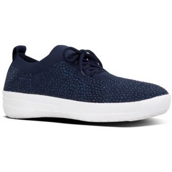 Schuhe Damen Sneaker Low FitFlop UBERNKIT SNEAKER CRYSTAL - MIDNIGHT NAVY MIDNIGHT NAVY