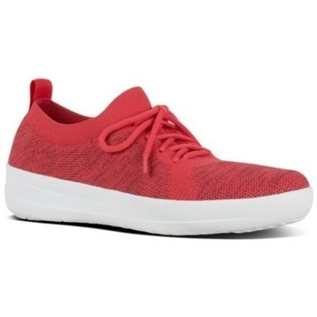 Schuhe Damen Sneaker Low FitFlop F-SPORTY UBERKNIT - PASSION RED MIX PASSION RED MIX