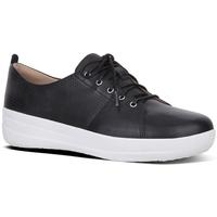 Schuhe Damen Sneaker Low FitFlop F-SPORTY TM II LACE UP PERF SNEAKERS - BLACK BLACK