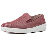 Schuhe Damen Slip on FitFlop SUPERSKATE  LIZARD PRINT TM - SPICE SPICE