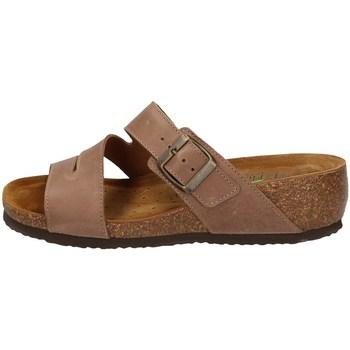 Schuhe Damen Pantoffel Florance 39606-1 BRAUN